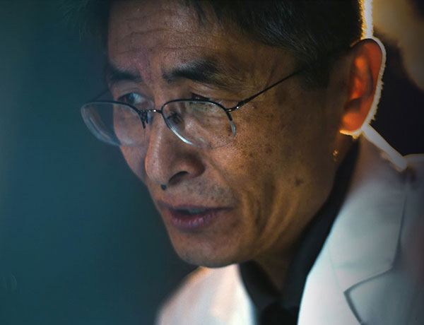 Image of Dr. Changho Choi in his lab